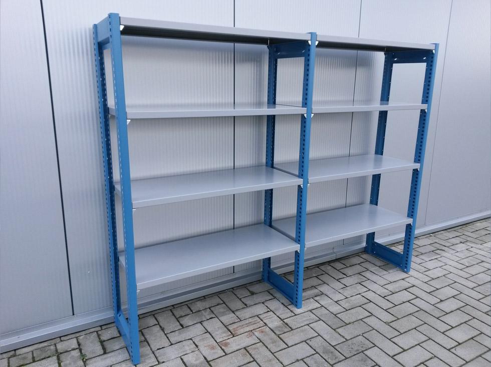 Garage Inrichting Gebruikt : Legbordstelling cm diep u bedrijfsinrichting nederland