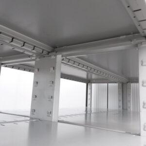 SSI Schafer Stelling, 518cm breed, 217cm hoog, 2x 50cm diep