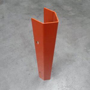 Aanrijdbeveiliging voor palletstelling montage op staander 7cm breed