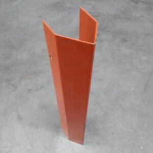 Aanrijdbeveiliging voor palletstelling montage op staander 8,5cm breed