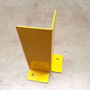 Aanrijdbeveiliging voor legbordstelling geel hoekopstelling