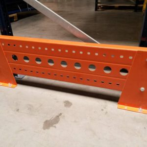 Aanrijdbeveiliging voor palletstelling staander 80cm breed