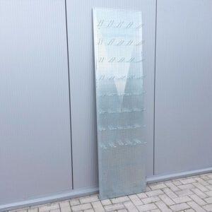 Perfowand met 40 haakjes, 200 x 55cm