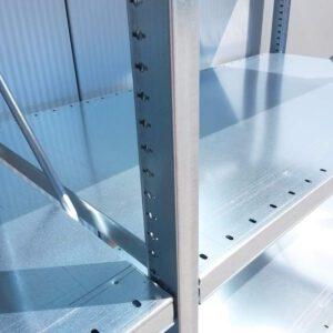 Nedcon Stelling, 220cm hoog, 4 borden van 70 x 122cm (Aanbouw) Nieuw!