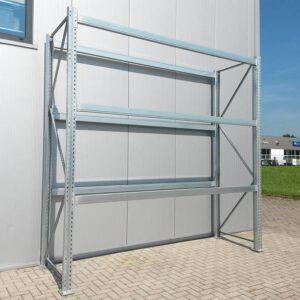 Dexion Palletstelling, 400cm hoog, 3 vakken van 107 x 320cm (Aanbouw)
