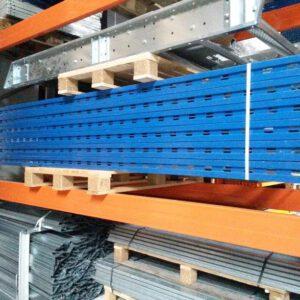 Eurostock staander, 300cm hoog, 100cm diep