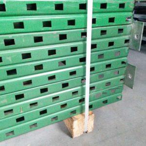 Nimar staander, 510cm hoog, 90cm diep groen